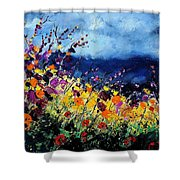 Summer 45 Shower Curtain