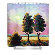 Summer Afternoon In The Fields Shower Curtain