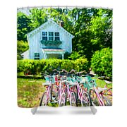 Summer Afternoon In The Hamptons Shower Curtain