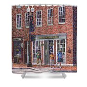 Summer Afternoon On M Street Shower Curtain