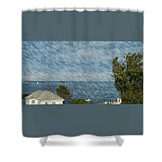 Summer Afternoon Sail Shower Curtain