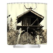 Summer Alaskan Cache Shower Curtain