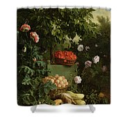 Summer Shower Curtain by Alexandre-Francois Desportes