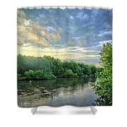 Summer Along The West Fork Shower Curtain