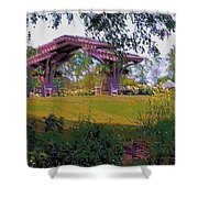Summer Arbor Shower Curtain