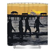 Summer At The Beach Shower Curtain