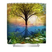 Summer At The Reef Shower Curtain