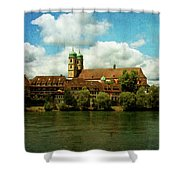 Summer. At The Resort In Bad Saeckingen. Germany. Shower Curtain
