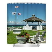 Summer At The Shore Shower Curtain