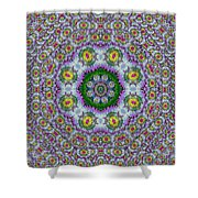 Summer Bloom In Floral Spring Time Shower Curtain