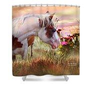 Summer Blooms Shower Curtain by Carol Cavalaris