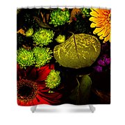 Summer Boquet Shower Curtain