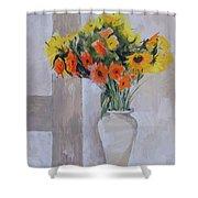 Summer Bouquet Shower Curtain