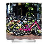 Summer Bright Pedals Shower Curtain