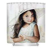 Summer Claire Shower Curtain
