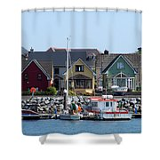Summer Cottages Dingle Ireland Shower Curtain