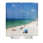 Summer Day In Florida Shower Curtain