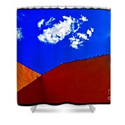 Summer Day In The New World Shower Curtain