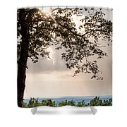 Summer Days On The Horizon Shower Curtain