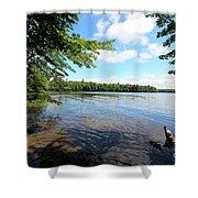 Summer Dreaming On Lake Umbagog  Shower Curtain