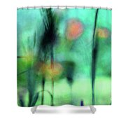 Summer Dreams Abstract Shower Curtain