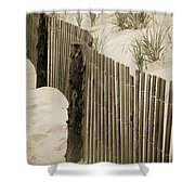 Summer Dunes Shower Curtain