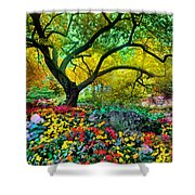 Summer Ends And Autumn Begins Shower Curtain