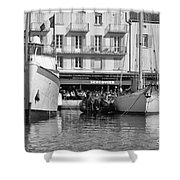 Summer Feelings Saint - Tropez Shower Curtain