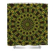 10696 Summer Fire Mask 54 Kaleidoscope 1 Shower Curtain