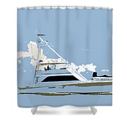 Summer Freedom Shower Curtain