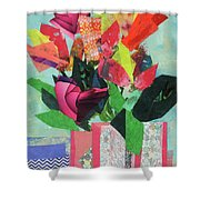 Summer Frolic Shower Curtain