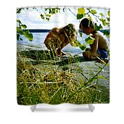 Summer Fun In Finland Shower Curtain