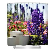 Summer Garden 1 Shower Curtain
