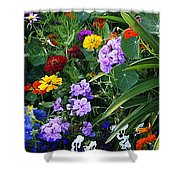 Summer Garden 3 Shower Curtain