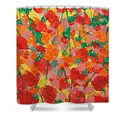Summer Garden Shower Curtain