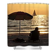 Summer Get Away Shower Curtain by David Lee Thompson