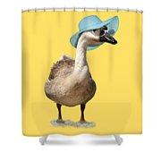 Summer Goose Shower Curtain