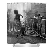 Summer Heat Shower Curtain