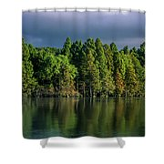 Summer Highlights Shower Curtain