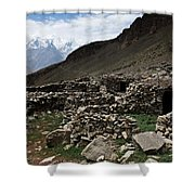 Summer Hut Shower Curtain
