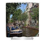 Summer In Amsterdam-1 Shower Curtain