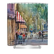 Summer In Cedarburg Shower Curtain