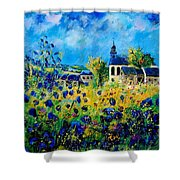 Summer In Foy Notre Dame  Shower Curtain