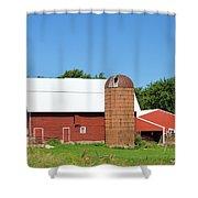 Summer In Iowa Shower Curtain