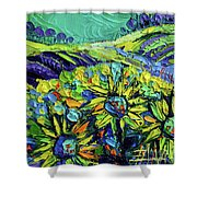 Summer In Provence Shower Curtain