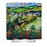 Summer In Rochehaut Shower Curtain