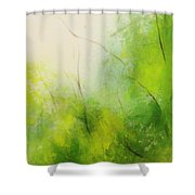 Summer In The Air Shower Curtain