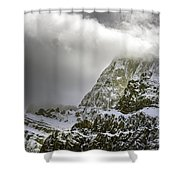 Summer In The Rockies Shower Curtain
