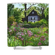 Summer In Waterford Shower Curtain
