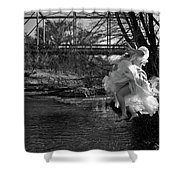 Summer Leap Shower Curtain